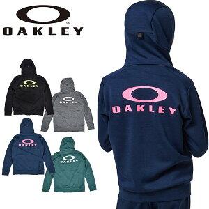得割34 フリース パーカー OAKLEY オークリー ENHANCE FLEECE JACKET YTR 1.7 キッズ ジュニア 子供 ジャケット フルジップ ビッグロゴ スポーツ トレーニング FOA401609