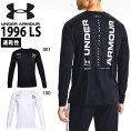 長袖TシャツアンダーアーマーUNDERARMOURUA1996LSメンズロゴシャツランニングジョギングマラソントレーニングウェア13571782020秋冬新作