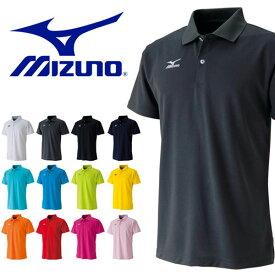 半袖 ミズノ MIZUNO メンズ レディース ポロシャツ ワンポイント バドミントン ゴルフ テニス スポーツ カジュアル スポカジ スポーツウェア