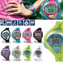 送料無料 軽量だから女性の腕にもフィット ランニングウォッチ アシックス asics メンズ レディース デジタル 時計 腕時計 ランニング ジョギング AR0...