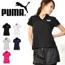 半袖 ポロシャツ プーマ PUMA レディース ESS ポロシャツ ワンポイント ロゴ スポーツウェア 20%OFF 853891