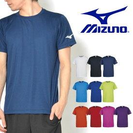 半袖 Tシャツ ミズノ MIZUNO メンズ レディース BS Tシャツ ソデRBロゴ ランニング ジョギング トレーニング ジム ウェア スポーツウェア