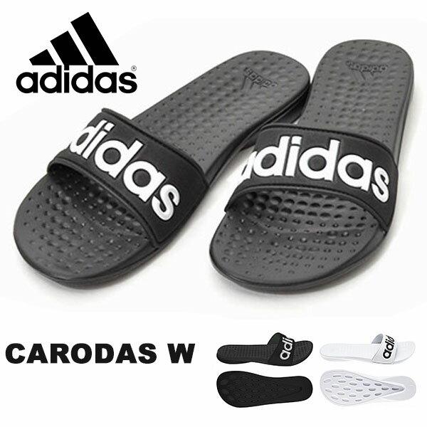 シャワーサンダル アディダス adidas CARODAS W レディース スポーツサンダル サンダル スポーツ ジム 2018春新作 AQ2149 CQ0133 【あす楽配送】