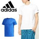 30%OFF 半袖 Tシャツ アディダス adidas M ESSENTIALS Badge of Sport ベーシック Tシャツ メンズ ワンポイント スポーツウェア ランニング ジョギング ジム トレーニング ウェア
