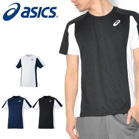 得割30 半袖 Tシャツ アシックス asics ショートスリーブトップ メンズ レディース ランニング ジョギング ジム トレーニング ウェア スポーツウェア