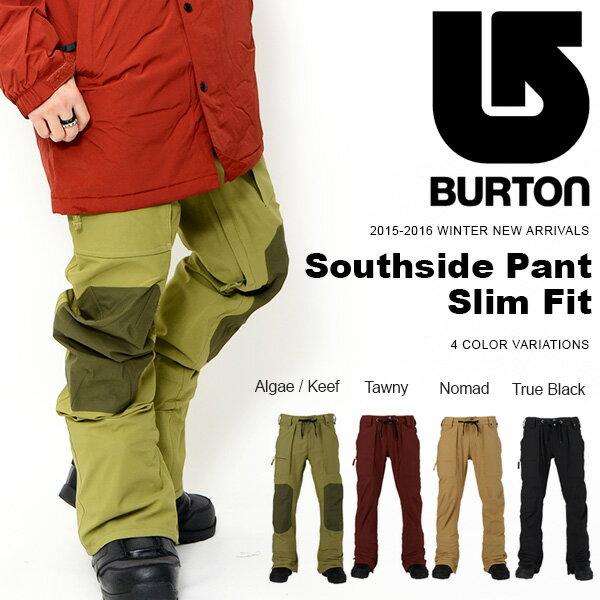 ラス1 送料無料 スノーボードウェア バートン BURTON Southside Pant Slim Fit メンズ パンツ スリムフィット スノボ スノーボード スノーボードウエア SNOWBOARD WEAR 40%off