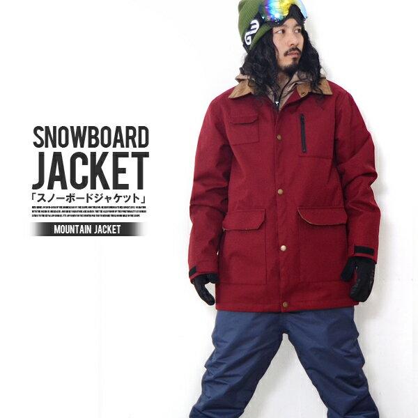 送料無料 スノーボードウェア メンズ ジャケット SNOWBOARD JACKET マウンテン デザイン スノーウエア スノーボード ウエア スノボウエア SNOWBOARD 【あす楽対応】