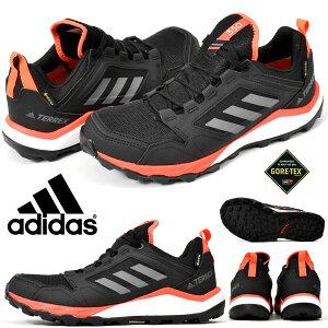再入荷 送料無料 アディダス アウトドアシューズ ゴアテックス adidas メンズ TERREX AGRAVIC TR GTX GORE-TEX トレイル ランニング シューズ 靴 ブラック 黒 23%OFF EF6868
