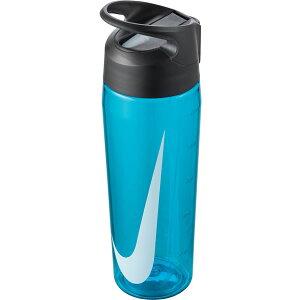 水筒 ナイキ NIKE TR ハイパーチャージ ストロー ボトル 24oz 容量709ml 0.7L 透明 直飲み ストロー付き クリアボトル ウォーターボトル スポーツボトル 水分補給 ブルー 青 HY4002 【あす楽対応】