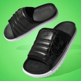 送料無料 ナイキ スポーツサンダル メンズ NIKE ASUNA スライド サンダル ビーチサンダル シャワーサンダル ビーサン スポサン シューズ 靴 ブラック 黒 ASUNA SLIDE CI8800