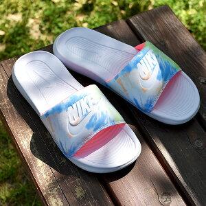 ナイキ スポーツサンダル レディース メンズ NIKE VICTORI ONE スライド プリント サンダル ビーチサンダル シャワーサンダル ビーサン スポサン シューズ 靴 ペイント cn9676 2021夏新色