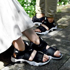 送料無料 ナイキ スニーカー サンダル レディース NIKE ウィメンズ CANYON キャニオン ストラップ ビーチサンダル スポサン シューズ 靴 ブラック CV5515