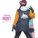 送料無料 スノーボードウェア レディース Coach Jacket コーチジャケット バックプリント スノーウエア スノーボード ウェア スノボウエア SNOW...