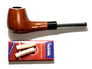 活性炭フィルター付属純木製マドロスパイプ(葉タバコ:シャグなど用) 喫煙具