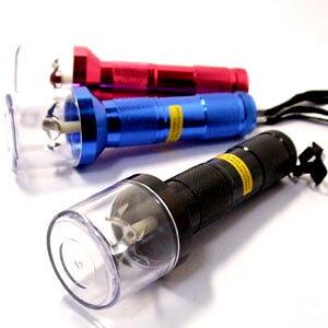 電動グラインダー/ミキサー(電池3個付き) 喫煙具 ドライハーブなど用