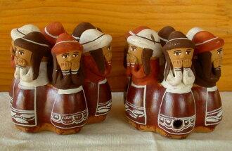 印地欧秘鲁釉娃娃 (圆型) 周六长笛 CE-028