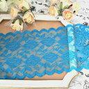 レース 幅広い 花柄 ストレッチレース 伸縮性 リボン 手作り 飾り 素材 装飾 手芸 素材 材料 衣装 ハンドメ…