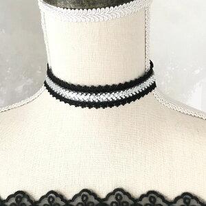 チョーカー レース クリアストーン レディース 衣装 ダンス ブラック ジュエリー 衣装用 アクセサリー レースチョーカー