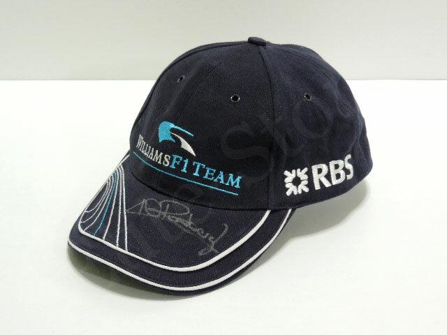 【送料無料】 ニコ・ロズベルグ 2006年 ウィリアムズ F1 公式 直筆サイン入り キャップ 帽子 (海外直輸入 F1 USEDグッズ メモラビリア)