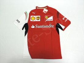 【送料無料】キミ・ライコネン 2014年 フェラーリ 支給品 本人用 Tシャツ メンズ new (海外直輸入 F1 非売品グッズ)