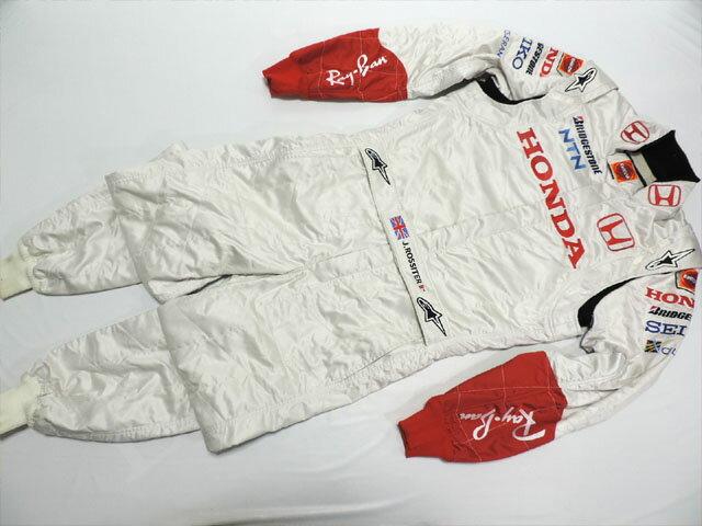 【送料無料】 ジェームス・ロシター 2007年 ホンダ F1 支給品 アルパインスターズ製 実使用 レーシングスーツ (海外直輸入 F1 非売品USEDグッズ メモラビリア)