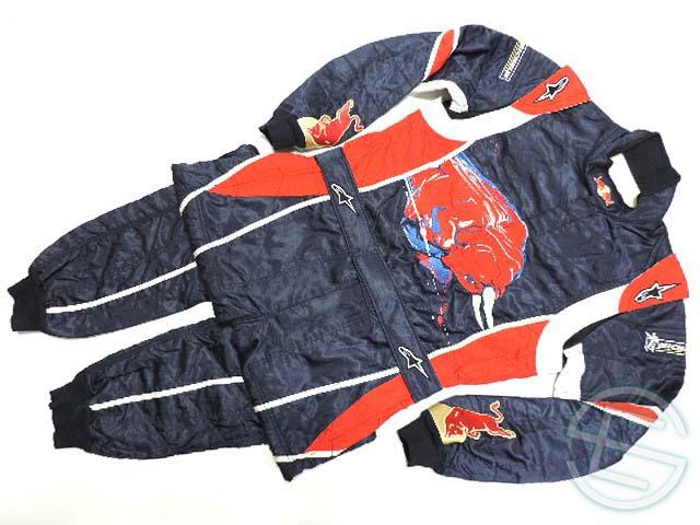【送料無料】トロ・ロッソ 2006年 支給品 アルパインスターズ製 タイヤ交換スタッフ用 耐火性 8856-2000 レーシングスーツ 56size 4/5 (海外直輸入 F1 非売品USEDグッズ)
