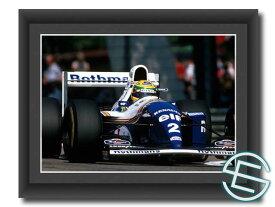アイルトン・セナ 1994年 ロスマンズ・ウィリアムズ F1 FW16 走行2 A4サイズ 生写真【送料無料】(海外直輸入 F1 グッズ)