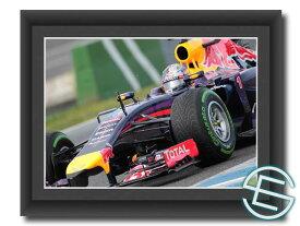 【メール便送料無料】セバスチャン・ベッテル 2014年 レッドブル・ルノー F1 テスト1 A4サイズ 生写真(海外直輸入 F1 グッズ)