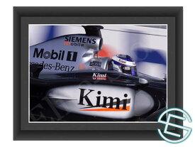 【メール便送料無料】キミ・ライコネン 2002年 マクラーレン F1 A4サイズ 生写真 1(海外直輸入 F1 グッズ)