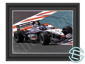 【メール便送料無料】キミ・ライコネン 2002年 マクラーレン F1 A4サイズ 生写真 2(海外直輸入 F1 グッズ)