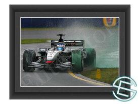 【メール便送料無料】キミ・ライコネン 2002年 マクラーレン F1 A4サイズ 生写真 3(海外直輸入 F1 グッズ)