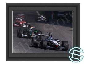 【メール便送料無料】キミ・ライコネン 2002年 マクラーレン F1 A4サイズ 生写真 4(海外直輸入 F1 グッズ)