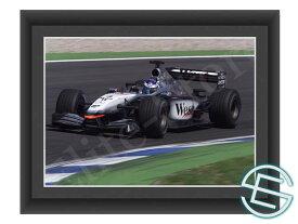 【メール便送料無料】キミ・ライコネン 2002年 マクラーレン F1 A4サイズ 生写真 5(海外直輸入 F1 グッズ)