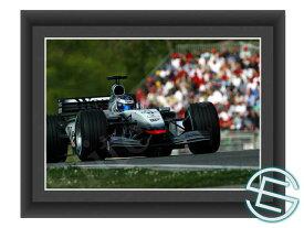 【メール便送料無料】キミ・ライコネン 2002年 マクラーレン F1 A4サイズ 生写真 6(海外直輸入 F1 グッズ)