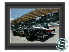 【メール便送料無料】キミ・ライコネン 2003年 マクラーレン F1 マレーシアGP A4サイズ 生写真 1(海外直輸入 F1 グッズ)