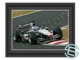 【メール便送料無料】キミ・ライコネン 2003年 マクラーレン F1 日本GP A4サイズ 生写真 1(海外直輸入 F1 グッズ)