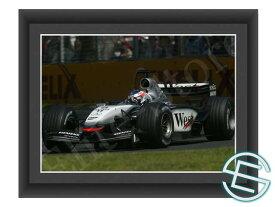 【メール便送料無料】キミ・ライコネン 2003年 マクラーレン F1 オーストラリアGP A4サイズ 生写真 1(海外直輸入 F1 グッズ)