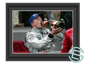 【メール便送料無料】キミ・ライコネン 2003年 マクラーレン F1 モナコGP A4サイズ 生写真 1(海外直輸入 F1 グッズ)