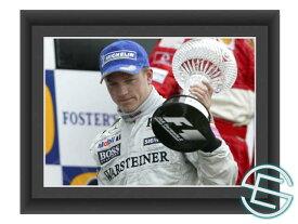 【メール便送料無料】キミ・ライコネン 2004年 マクラーレン F1 イギリスGP A4サイズ 生写真 1(海外直輸入 F1 グッズ)