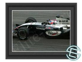 【メール便送料無料】キミ・ライコネン 2004年 マクラーレン F1 マレーシアGP A4サイズ 生写真 1(海外直輸入 F1 グッズ)