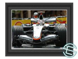 【メール便送料無料】キミ・ライコネン 2005年 マクラーレン F1 モナコGP A4サイズ 生写真 1(海外直輸入 F1 グッズ)