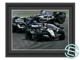 【メール便送料無料】キミ・ライコネン 2005年 マクラーレン F1 ドイツGP A4サイズ 生写真 1(海外直輸入 F1 グッズ)