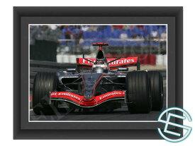 【メール便送料無料】キミ・ライコネン 2006年 マクラーレン F1 A4サイズ 生写真 1(海外直輸入 F1 グッズ)