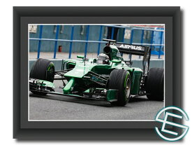 【メール便送料無料】小林可夢偉 2014年 ケータハム F1 テスト1 A4サイズ 生写真(海外直輸入 F1 グッズ)