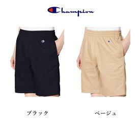 チャンピオン チノ ショーツ メンズ ハーフパンツ Champion ベージュ ネイビー スポーツ ウェア 2019年モデル C3-MB595 日本正規品
