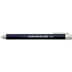 〇【10本セット】トンボ鉛筆 マーキングホルダー 白 H-DM01