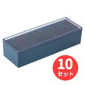 【10個セット】キングジム(KING JIM) 名刺整理箱 75 黒 約1000枚収納 【まとめ買い】