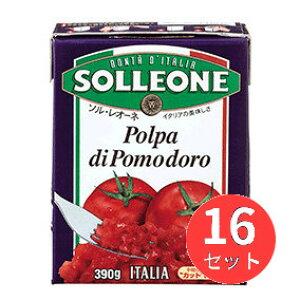 【16個セット】ソル・レオーネ ダイストマト (紙パック) 390g 日欧商事【まとめ買い】