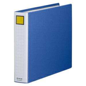 キングジム(KING JIM) キングファイル スーパードッチ<脱・着>イージー 2494EA B4ヨコ型 とじ厚40mm 青