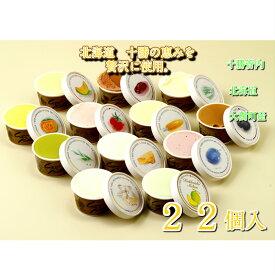 送料無料 北海道 十勝 大樹町 カウベル 「22個入」【北海道 カウベル アイス アイスクリーム 詰合せ お祝い 内祝い 景品 自家用 誕生日 】